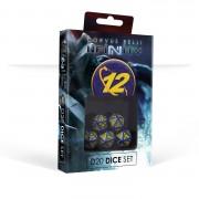 Infinity - O-12 D20 Dice Set