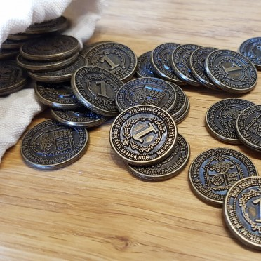 Glen More II: Chronicles 40 Metal Coins -  Funtails