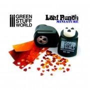 Miniature Leaf Punch - Dark Green