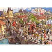 Puzzle Street Parade Gibel Knorr – 2000 Pièces