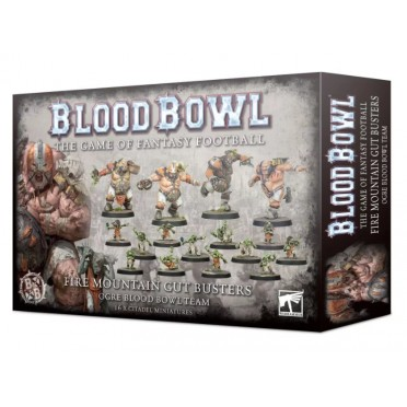 Blood Bowl : Ogre Team - Fire Mountain Gut Busters