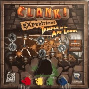 Boite de Clank! Expeditions : Temple of the Ape Lords