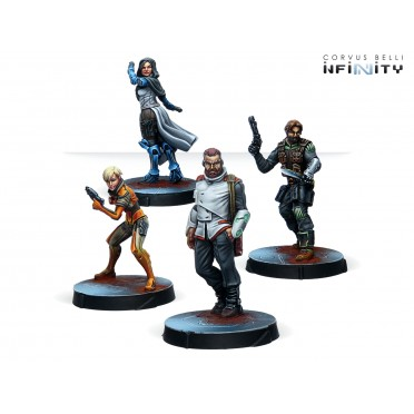 Infinity - Agents of the Human Sphere. RPG Characters Set