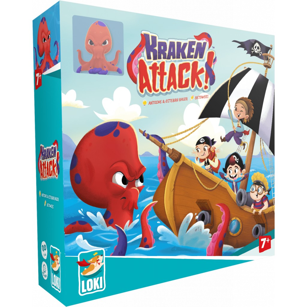 Kraken Attack !   Esteban. Auteur
