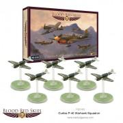 Blood Red Skies: Curtiss P-40 Warhawk Squadron, 6 planes