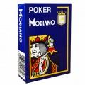 Jeu de 54 cartes Modiano format poker - Bleu foncé 0