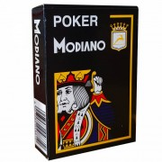 Jeu de 54 cartes Modiano format poker - Noir