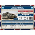 Team Yankee - British Starter Force - Challenger Armourd Squadron 11