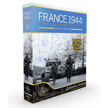 France 1944 : The Allied Crusade In Europe, Designer Signature Edition
