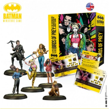 Batman - Bat-Box Starter - Birds of Prey
