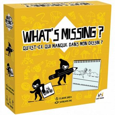 What's Missing ? | Sirieix, Florian. Auteur
