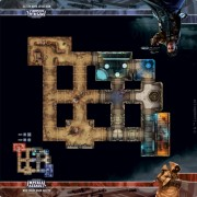 Star Wars: Imperial Assault: Skirmish Maps - Mos Eisley Back Alley Skirmish Map