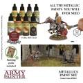 Army Painter - Warpaints Metallics Paint Set 1