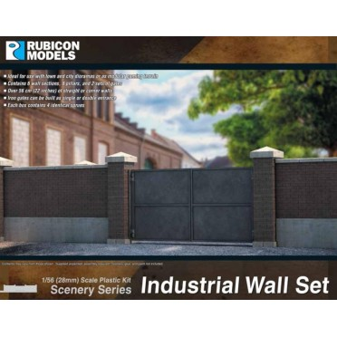 Rubicon Scenery: Industrial Wall Set
