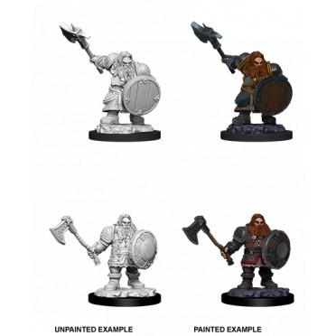 D&D Nolzur's Marvelous: Male Dwarf Fighter