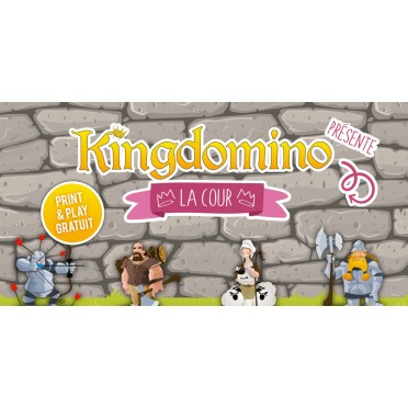 Kingdomino - La Cour PnP