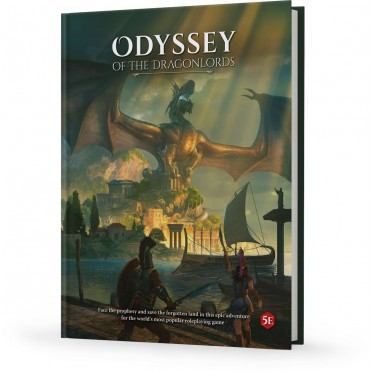 Odyssey of the Dragonlords - Adventure Book
