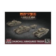 Flames of War - Churchill Armoured Troop