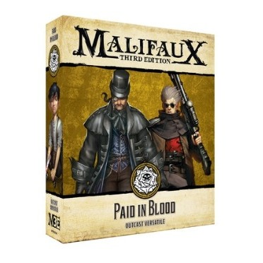 Malifaux - the Outcasts - Paid in Blood