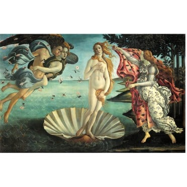 Puzzle - Sandro Botticelli -Naissance de Venus-1000 pièces