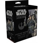 Star Wars Legion : Cassian Andor and K-2SO Commander Expansion