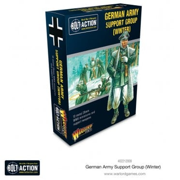 Bolt Action - German Army (Winter) Support Group