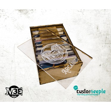 Malifaux M3 Stat Cards Box - Outcast