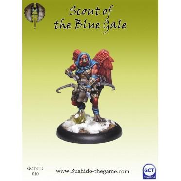 Bushido - Tengu Descension - Scout of the Blue Gale