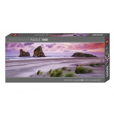 Puzzle - Wharariki Beach Panoramique - 1000 pièces