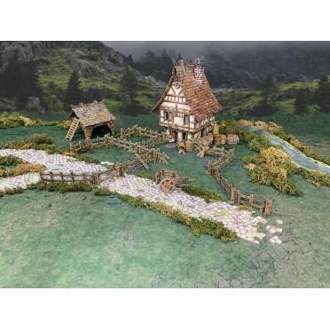 Battle System: Wooden Fencing