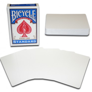Bicycle Cartes Blanches