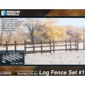 Rubicon Scenery: Log Fence Set 1 0