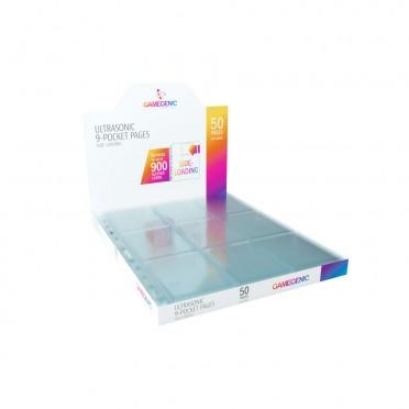Ultrasonic 9-Pocket Pages Sideloading DISPLAY