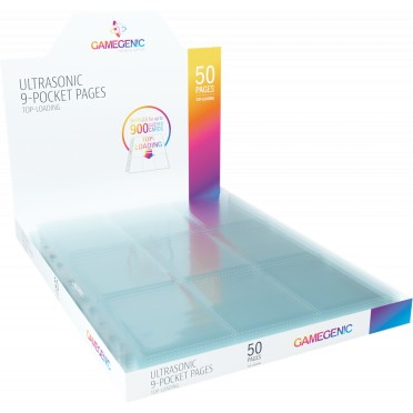 Ultrasonic 9-Pocket Pages Toploading DISPLAY