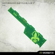 "Sisterhood Battle Ruler 9"" [green]"