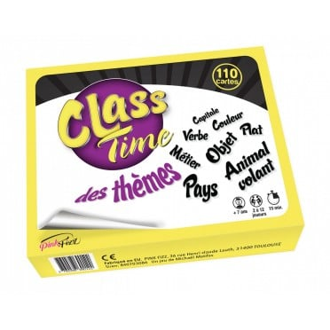 Class Time : Themes (110 cartes)