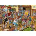 1000 Wasgij Destiny 20 - The Toy Shop ! 1