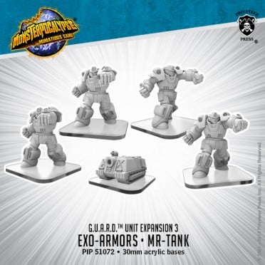 Monsterpocalypse - Protectors - Exo Armors and MR-Tank