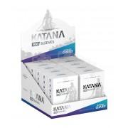 Lot de 10 paquets de 100 Sleeves Katana : Transparent