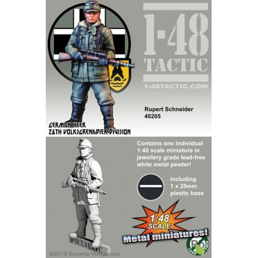 1-48 Tactic - German 26th Volksgrenadier - Rupert Schneider