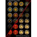 1-48 Tactic - 24 Game Markers Punchboard 0