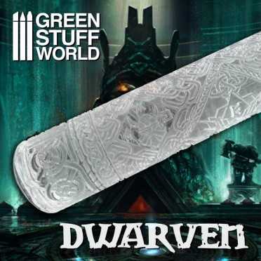 Rouleau texturé - Dwarven