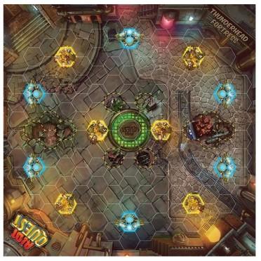 Riot Quest - Thunderhead Fortress Fabric Mat