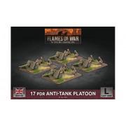 Flames of War - 17 Pdr Anti-Tank Platoon