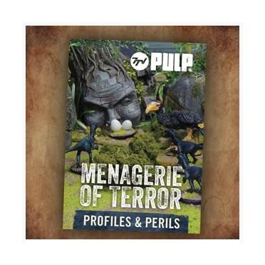 7TV - Pulp Menagerie of Terror - Profiles & Perils Cards