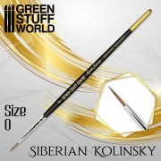 Gold Séries : Pinceau Kolinsky Sibérien - 0
