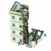 Pavlov's House Destroyed End Block Bundle