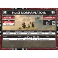 Flames of War - 8cm SS Mortar Platoon 3