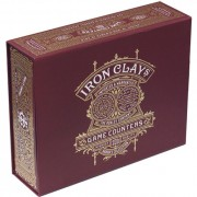 Iron Clays 200 Printed Box with Chips