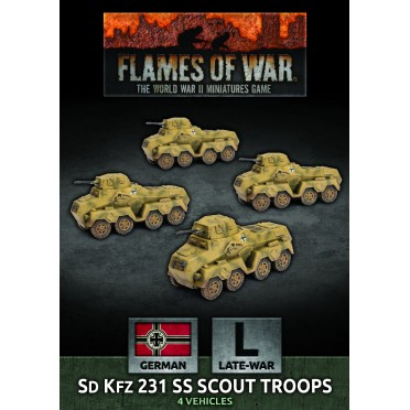 Flames of War - SdKfz 231 SS Scout Troops